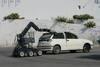 Simulacro de un coche-bomba en Motril