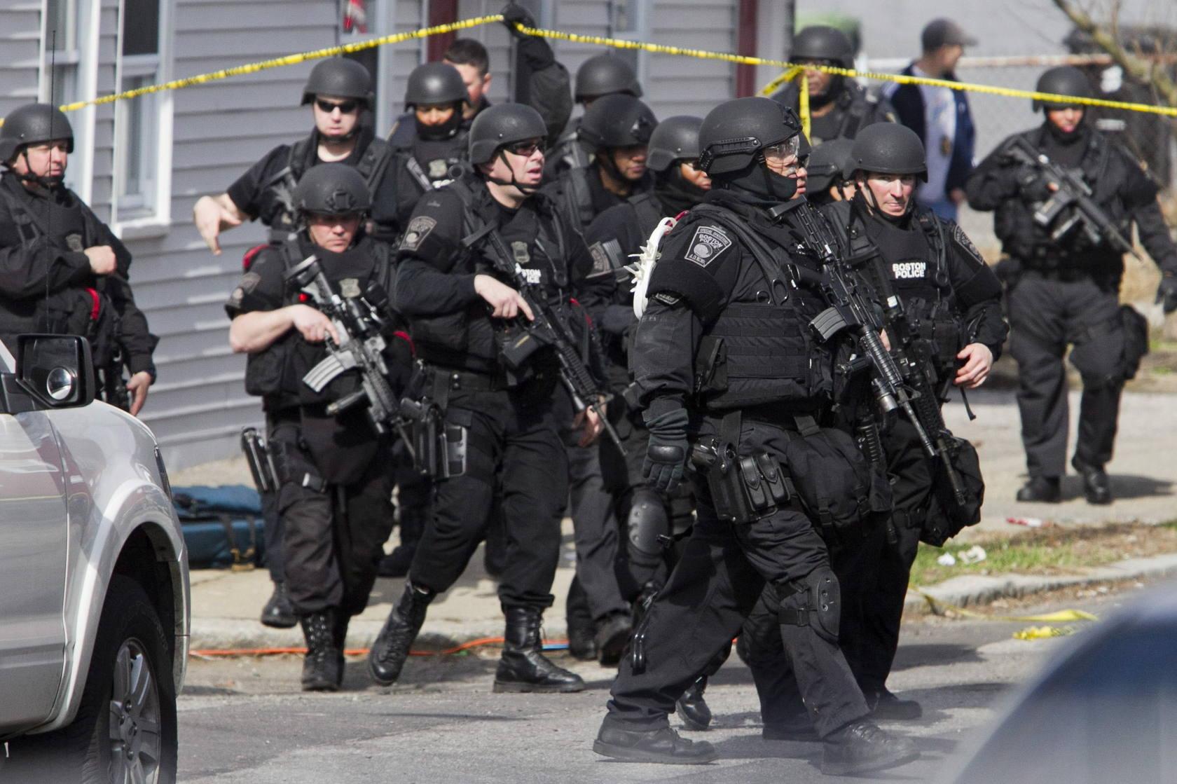 La Policía toma Boston