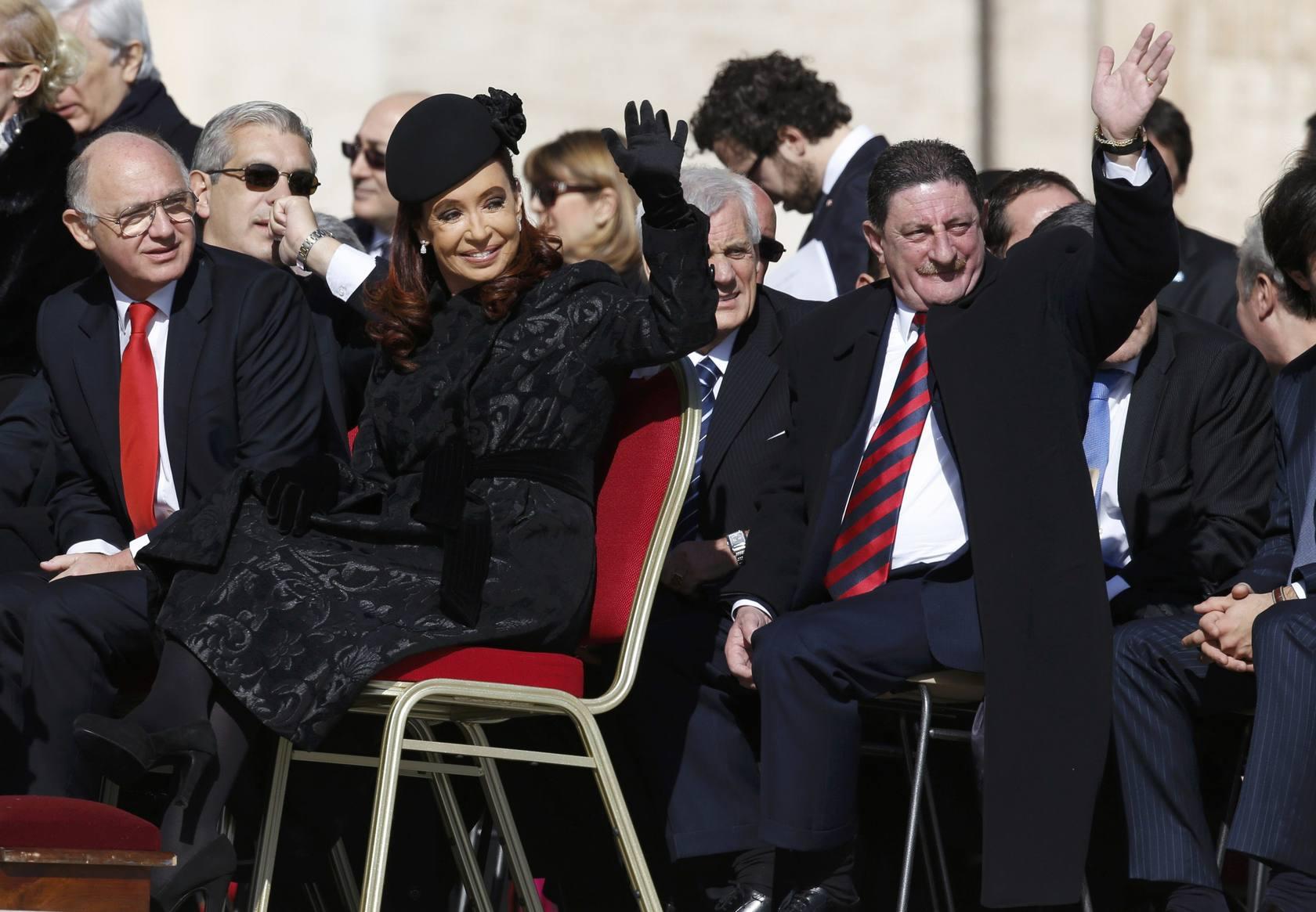 Los invitados a la asunción del Papa