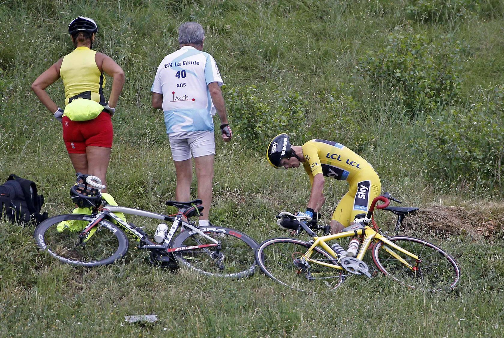 Froome impone su fuerza en la última contrarreloj del Tour