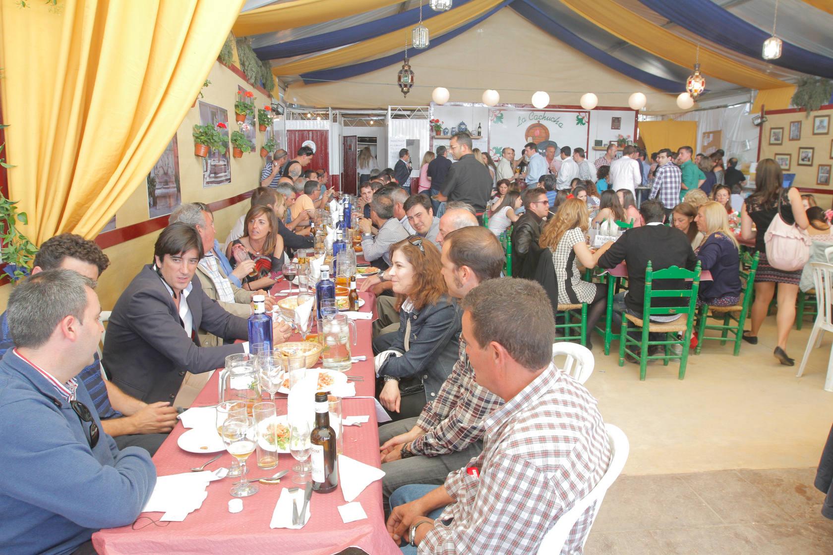 Miércoles de Corpus en el Real de la Feria