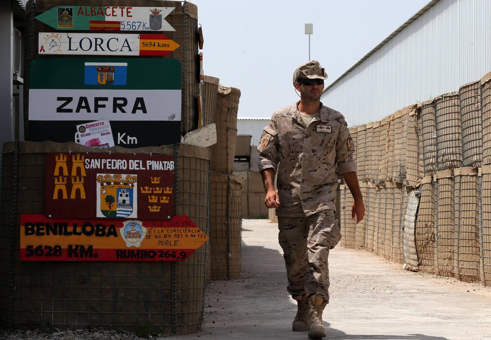 El día a día de los militares españoles en Afganistán